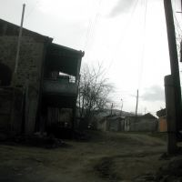 Typical street in Akhaltsikhe town, Ахалцихе