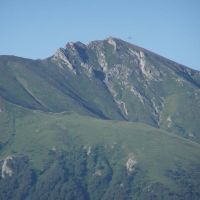 Aussicht fom Bakuriani... berg Savi klde, Бакуриани
