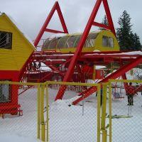 Bakuriani snow lift, Бакуриани