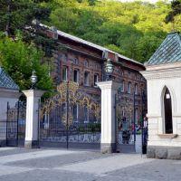 Gate to Borjomi park, Боржоми