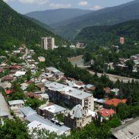 ბორჯომი/ Borzhomi panorama/ Borjomi/ Боржоми, Боржоми