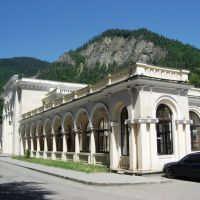 Borjomi Park railway station, Боржоми