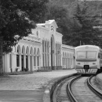 Borjomi Railway Station Georgia, Боржоми