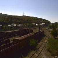 Gori railway yard, Georgia 19.7.2013., Гори