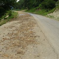 road Dzhvari - Mestiia, Джвари