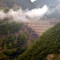 Inguri Dam, second tallest in the world, Джвари