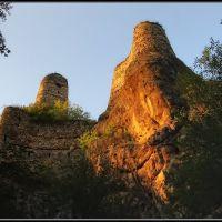 Khuluti Fortress Ravine of River Khrami - By Ivane Goliadze, Дманиси