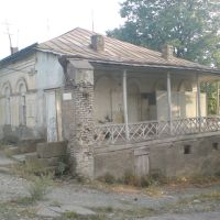 Old  part  of Dusheti ., Душети