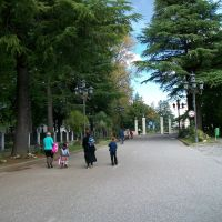 Road to the Dadiani palace, Зугдиди