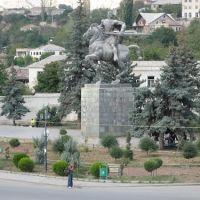 g.saakazde monument, Каспи
