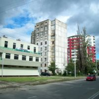Living blocks in Irakli Abashidze street, Кваиси