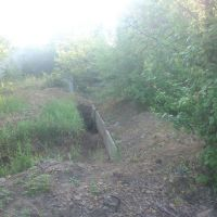 excavated trenches, Орджоникидзе