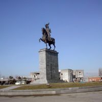 King Dadianis monument in Poti town, Поти
