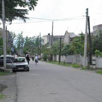 Road to railway station, Самтредиа