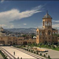 Кафедральный собор - Sameba Cathedral, Тбилиси