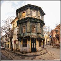 Cross Road Of Egnate Ninoshvili & George Mazniashvili Street - By Ivene Goliadze, Тбилиси