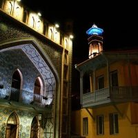 2.Bright bath by night, Тбилиси
