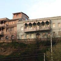 Old houses on the rock, Тбилиси
