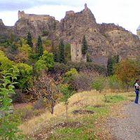 Narikala fortress -back side, Тбилиси