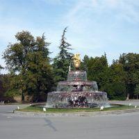 Telavi fountain, Телави