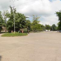 Тетрицкаро вид на площадь, Тетри-Цкаро