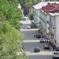 Tkibuli - View To Rustaveli Street, Ткибули