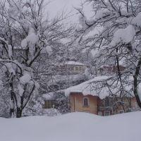 Tkibuli/Winter - Tbilisi Street, Ткибули