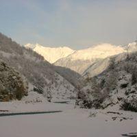 "River ""horse water"" (ckhenisckali) canyon_Lechkhumi, tsageri, Цагери"