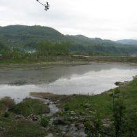 ჩხუტელის ტბა (lake of chkhuteli), Цагери