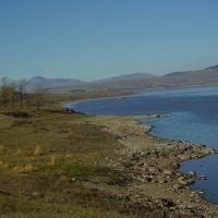 წალკის წყალსაცავი/Tsalka reservoir. Kvemo Kartli region, Georgia, Цалка