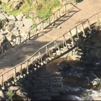 Старый мост(более 100 лет), Цители-Цкаро