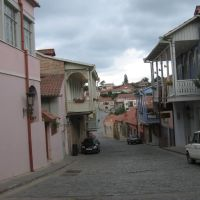Грузия-Сигнаги-старый квартал, Цнори