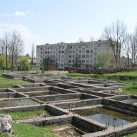 Abandoned construction site, Цхалтубо