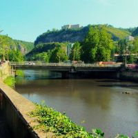 bridge on the river kvirila, Чиатура