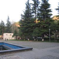 ხედი კულტურის სახლის ეზოდან, Чиатура