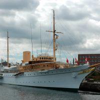 """The queens ship """"Dannebrog"""", Орхус"""