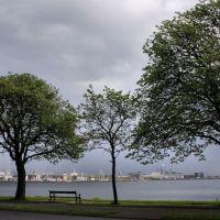 Tangkrogen med udsigt over Marselisborg Havn, Орхус