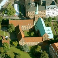 Aarhus, Church of Our Lady, Aerial, Орхус