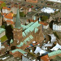 Århus Cathedral, Aerial, Орхус