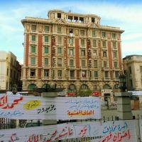 Egypte, immeuble style anglais témoin de la splendeur du passée dAlexandrie, Александрия