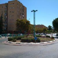 Merkhavim - Tayib square, Dimona, Димона