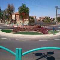 Bar Yohai - Yehuda HaLevi square, Dimona, Димона