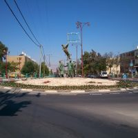Yigal Alon - Baba Sali square, Dimona, Димона