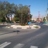 HaNassi - Henri Malka square, Dimona, Димона