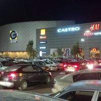 Shopping mall G Kfar Saba by night, Кфар Саба
