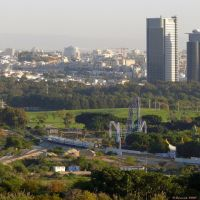 BSR 2 (Bnei Brak) and BSR 1 (Ramat Gan) Towers (27-DEC-07), Бнэй-Брак