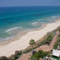 View from Seasons hotel, Netanya, Натания