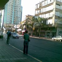 Histadrut street at 6:30 in the morning, Пэтах-Тиква