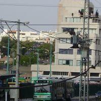 Здание возле автовокзала . Петах Тиква . Израиль ., Пэтах-Тиква