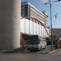 Ramla buss station, Рамла
